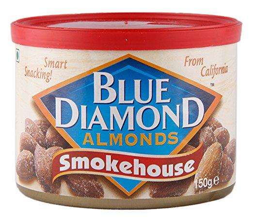 ブルーダイヤモンド・アーモンド・スモークハウスはラム酒にも抜群に合うおつまみ
