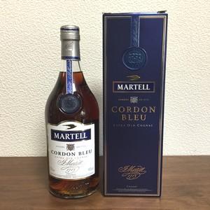 ラム酒好きにおすすめしたいコニャック「マーテルコルドンブルー」のご紹介